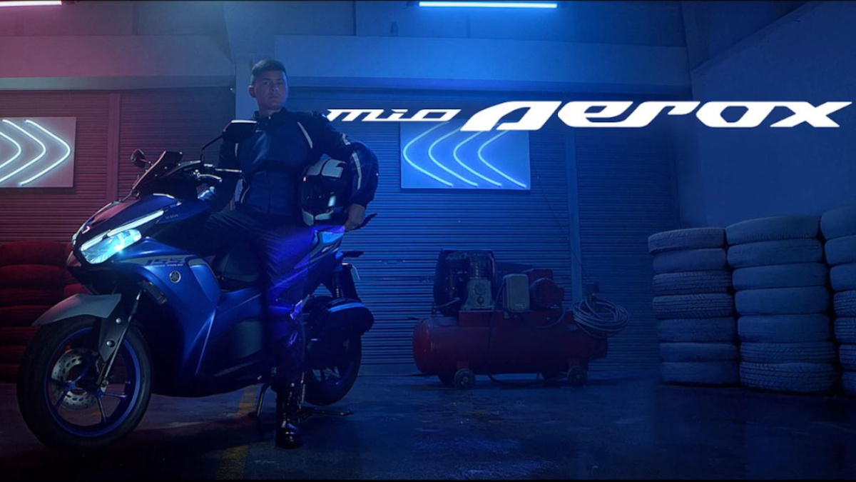 Matteo Guidicelli as Yamaha Mio Aerox 155 ambassador