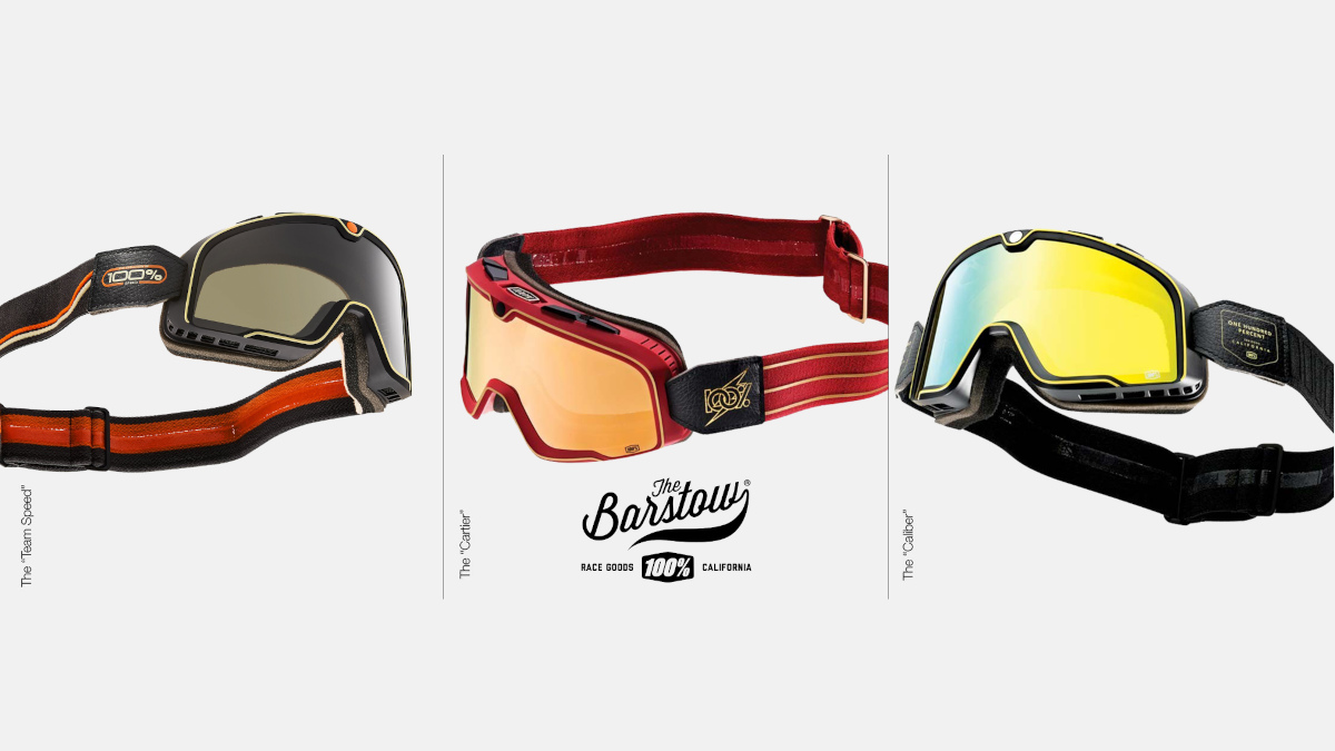 Barstow 100% Goggles