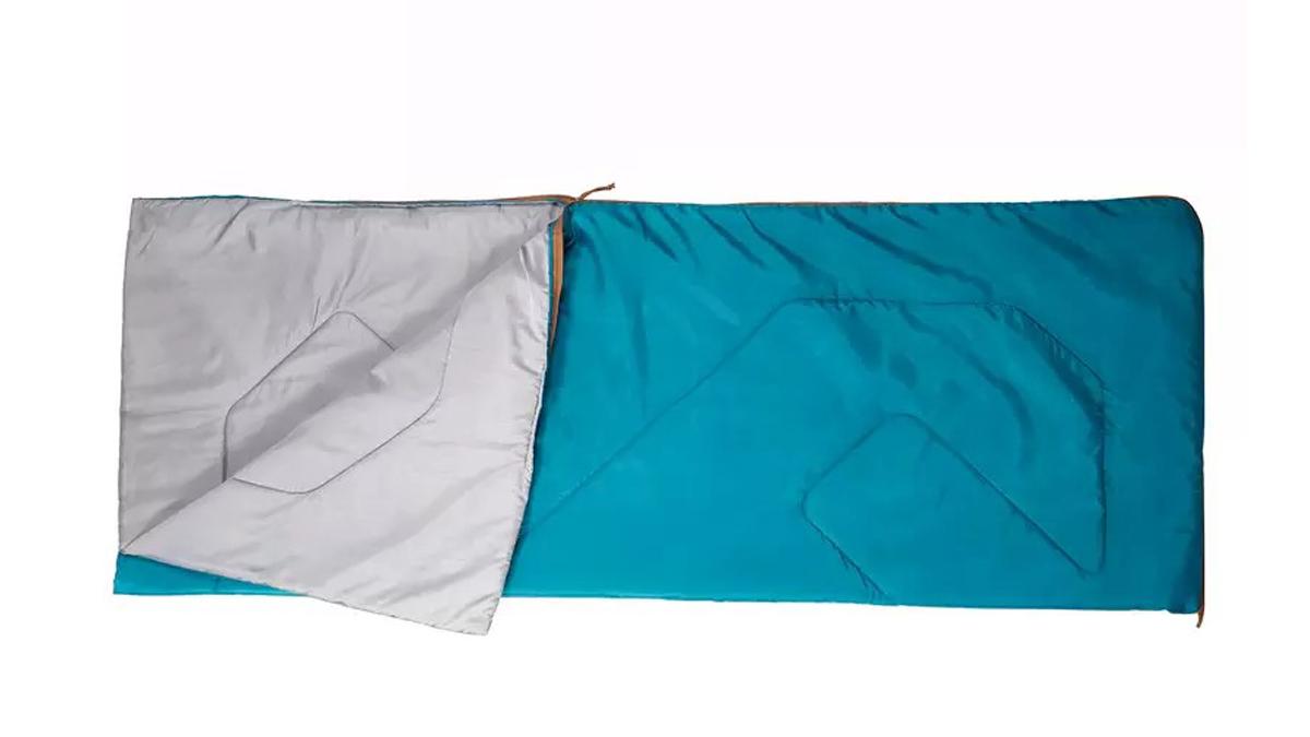 Moto camping essentials: Quechua Arpenaz 20° sleeping bag