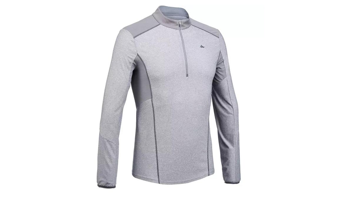 Moto camping essentials: Quechua MH550 long-sleeved shirt