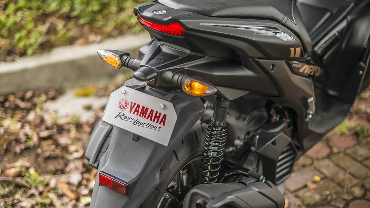 2021 Yamaha Mio Aerox S Taillight
