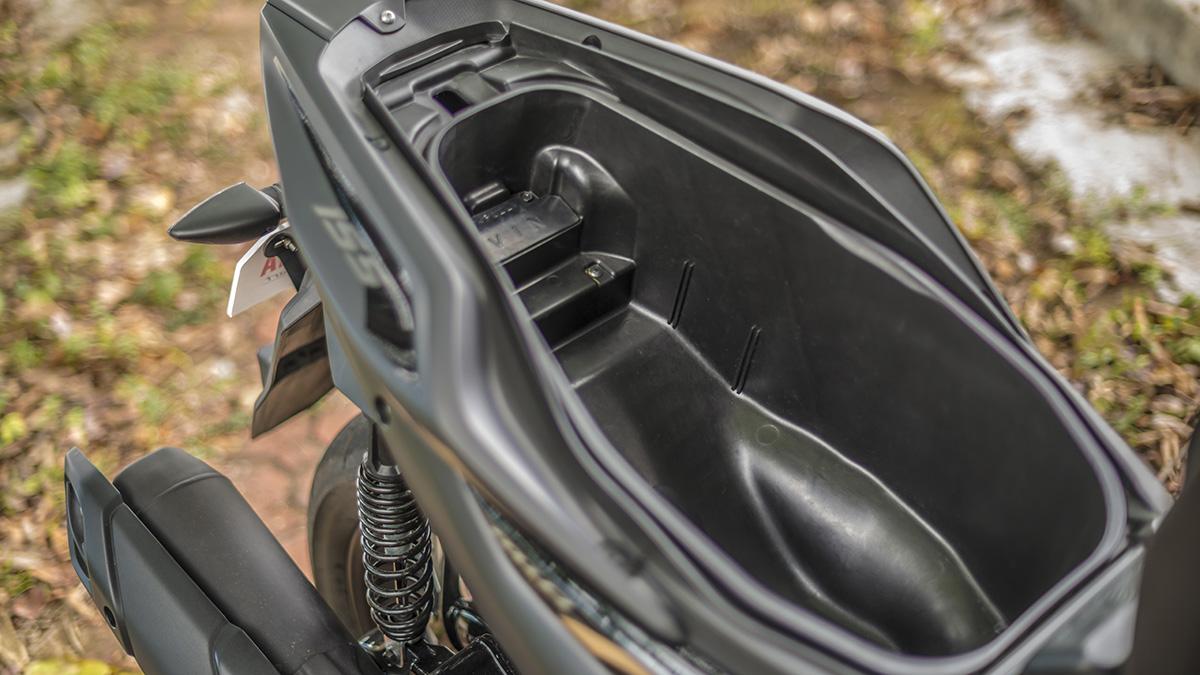 2021 Yamaha Mio Aerox S Underseat Storage