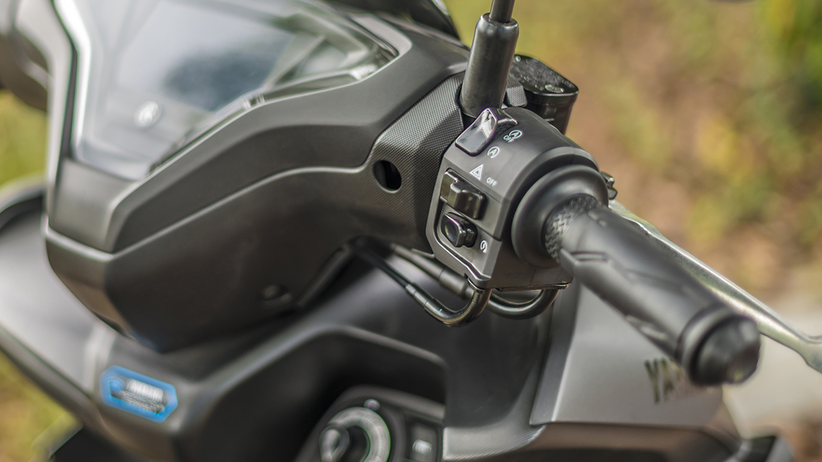 2021 Yamaha Mio Aerox S Handlebar
