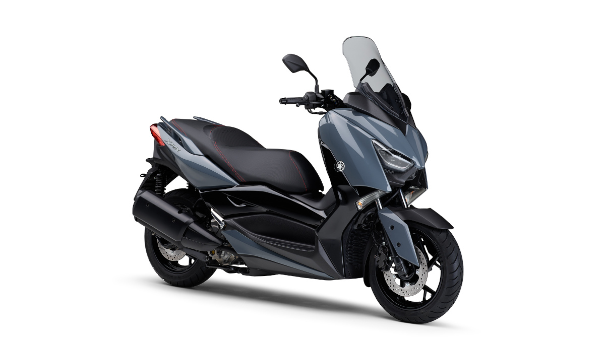 Gray 2021 Yamaha XMax
