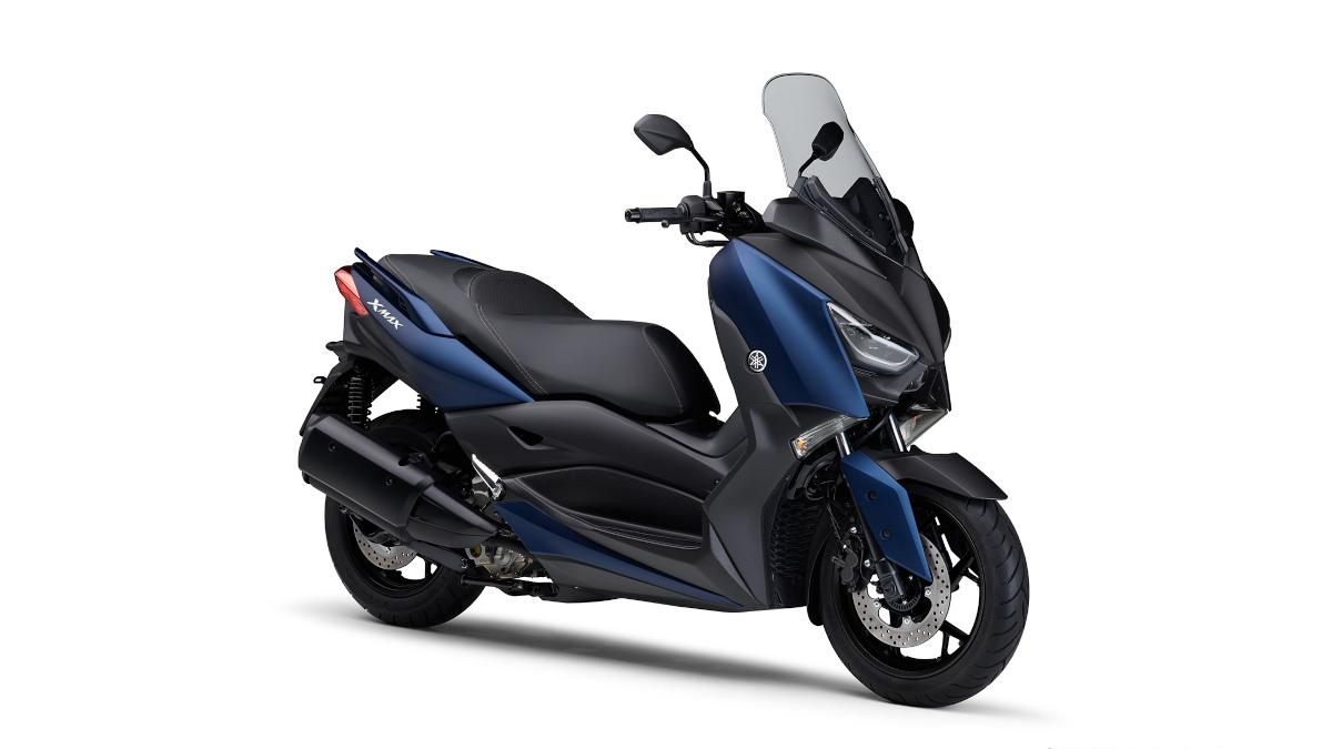 Matte Blue 2021 Yamaha XMax