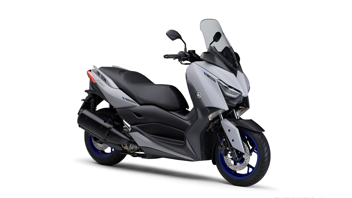 Matte Gray 2021 Yamaha XMax