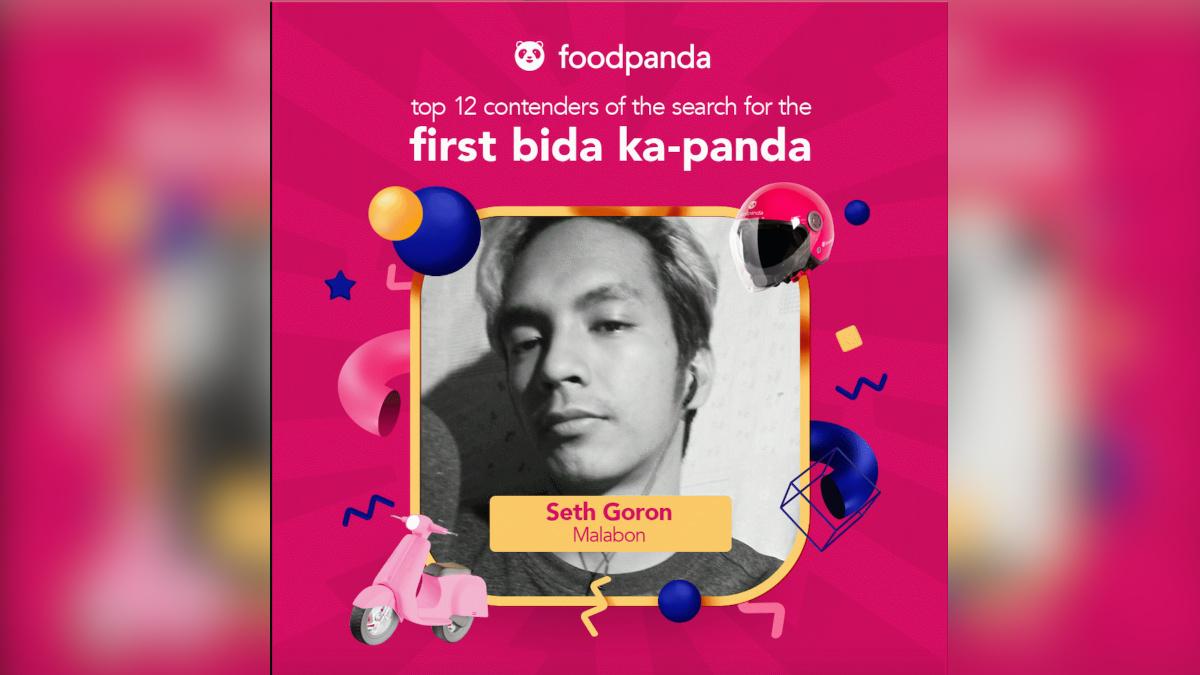 Foodpanda's Bida Ka-Panda 2021 Contender