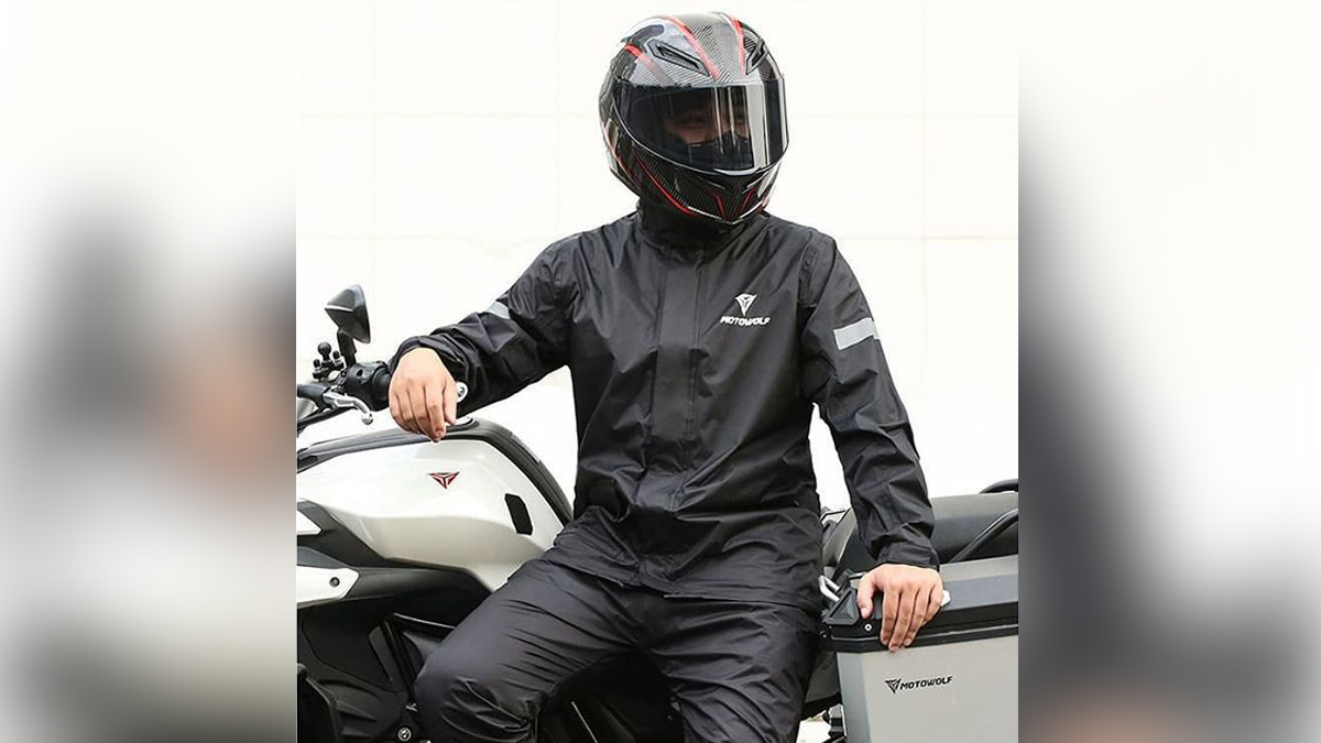Motowolf Raincoat with Pants