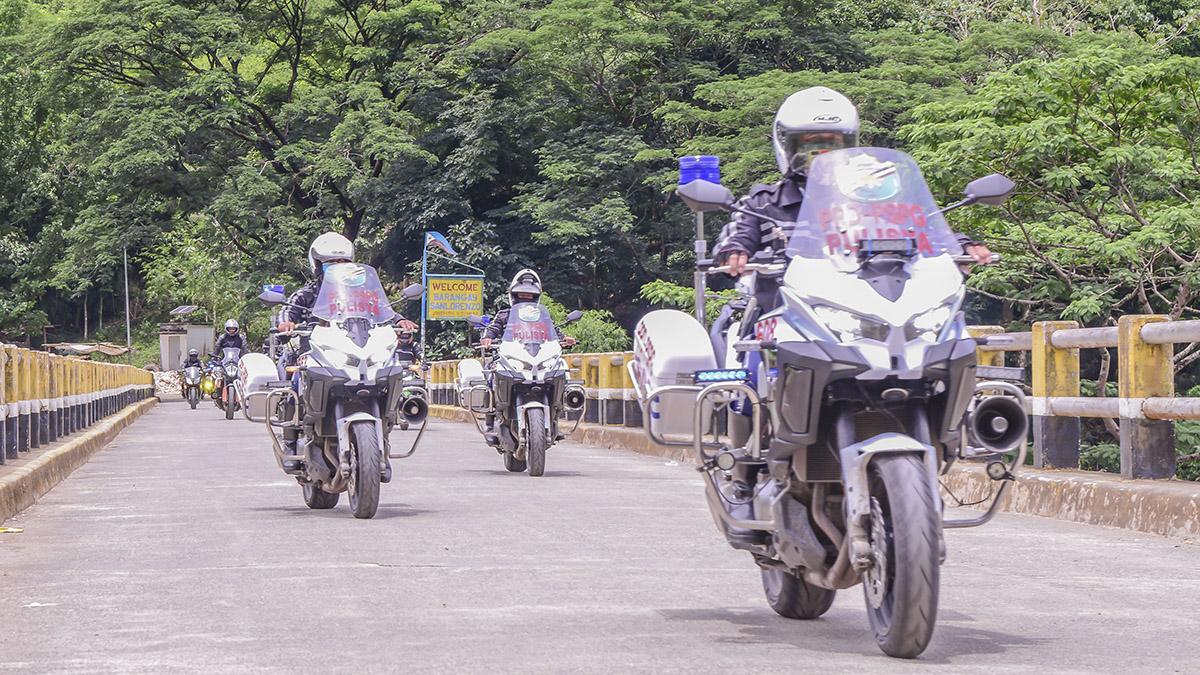 motorcycle training program para sa mga tauhan ng PSG sa tulong ng Philippine National Police-Highway Patrol Group (PNP-HPG)