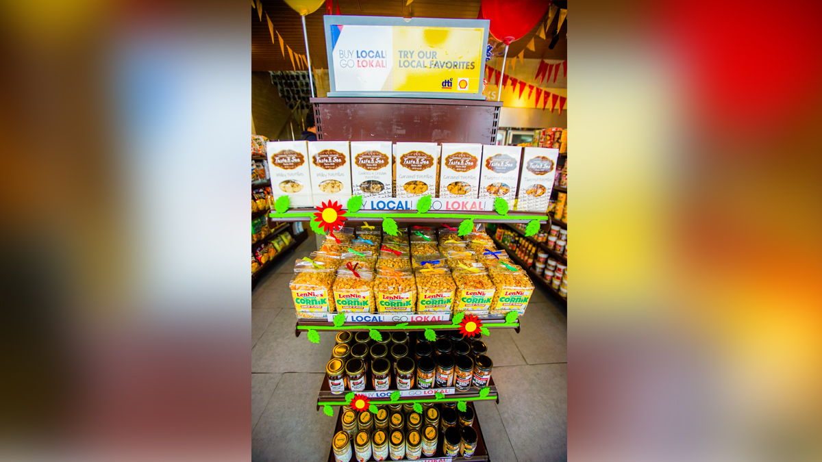 Bulakenyo delicacies in Shell Select store in Marilao Bulacan