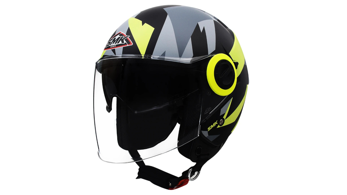 SMK Cooper open-face helmets