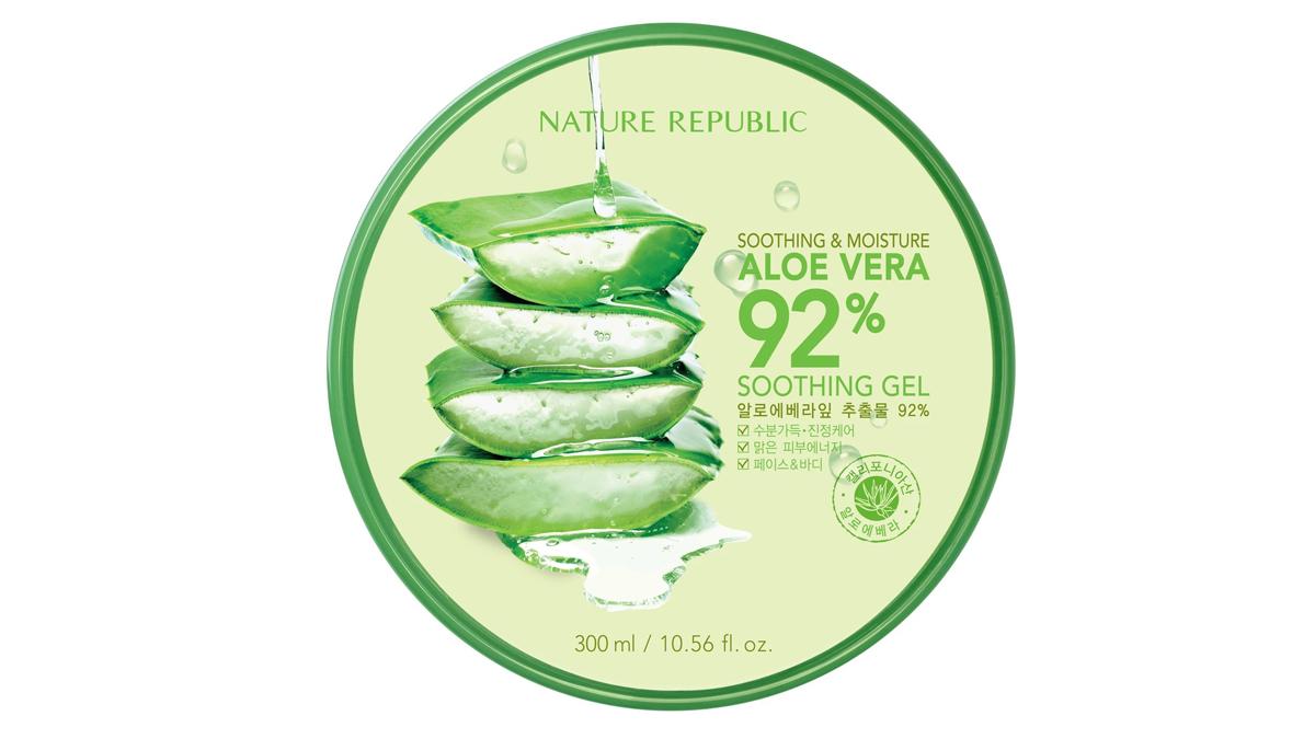 Nature Republic Aloe Vera Soothing Gel moisturizer
