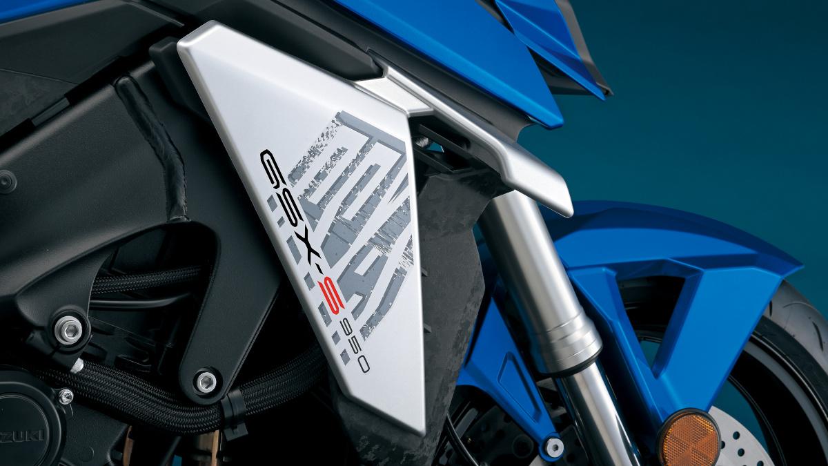 2022 Suzuki GSX-S950 Winglets