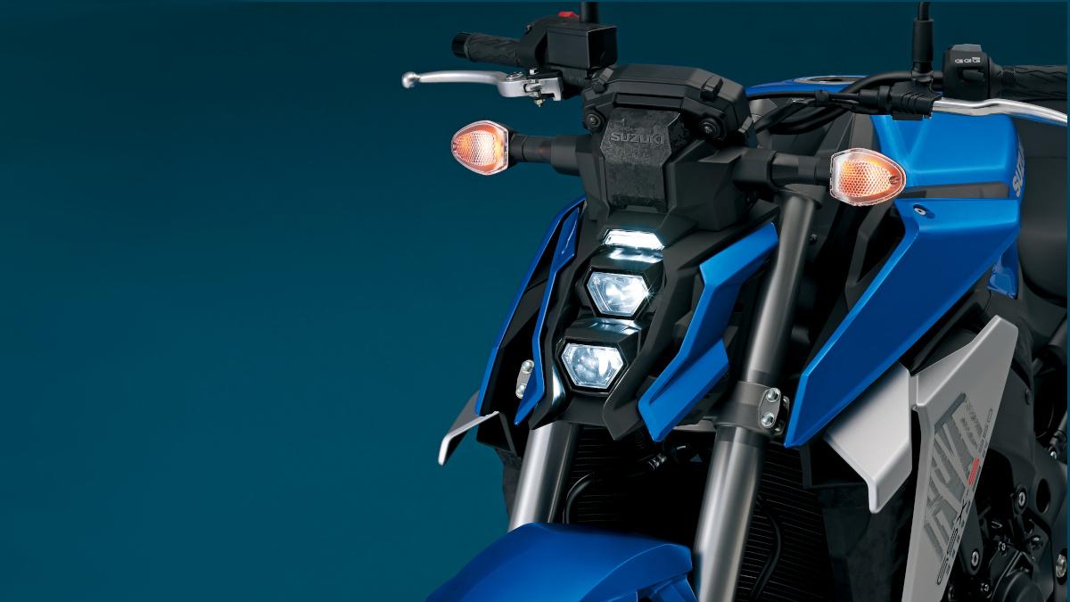2022 Suzuki GSX-S950 stacked LED Headlights