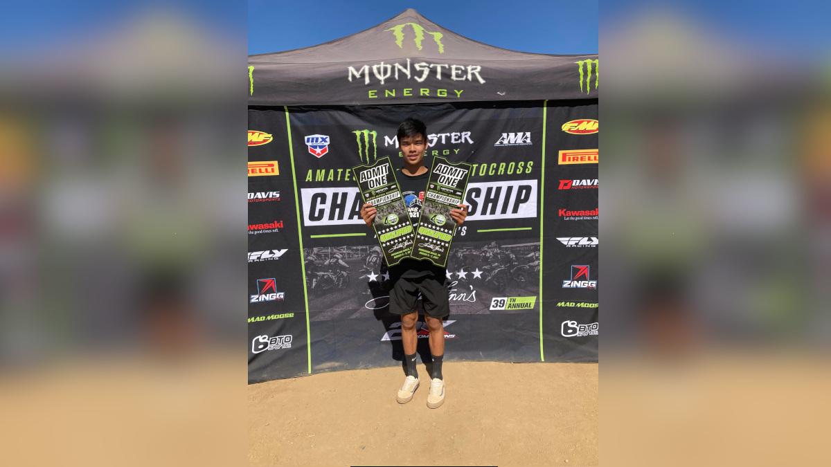 Motocross racer Polini Francisco