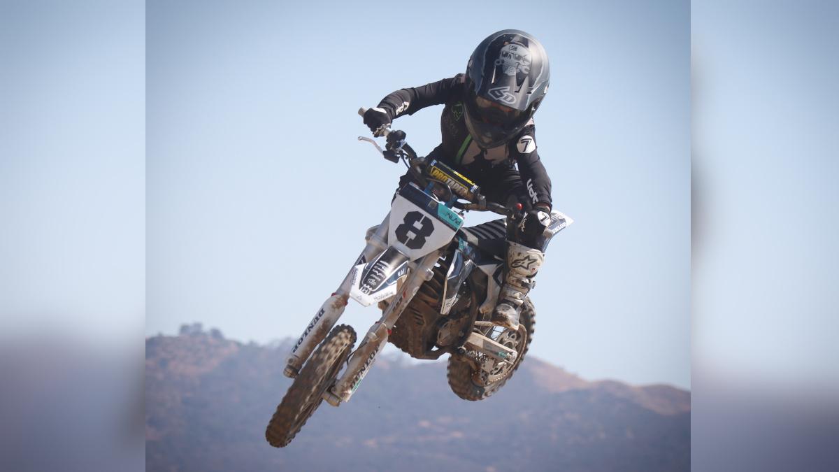 Motocross racer Tyer Mauricio