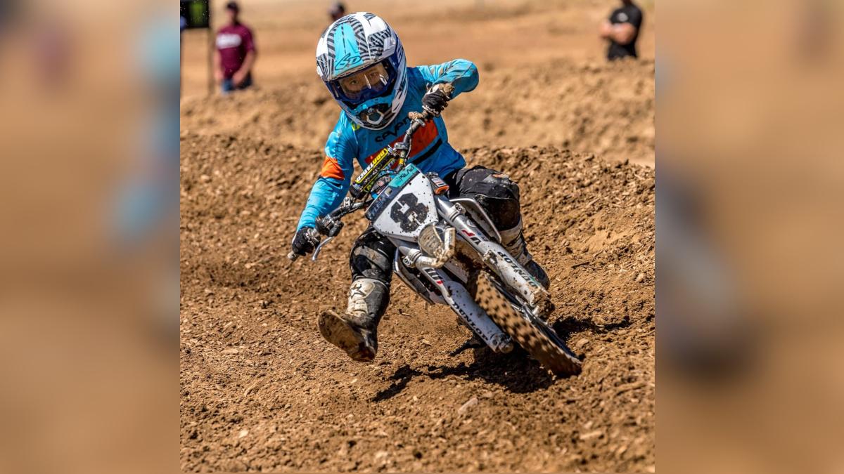 Motocross racer Tyler Mauricio