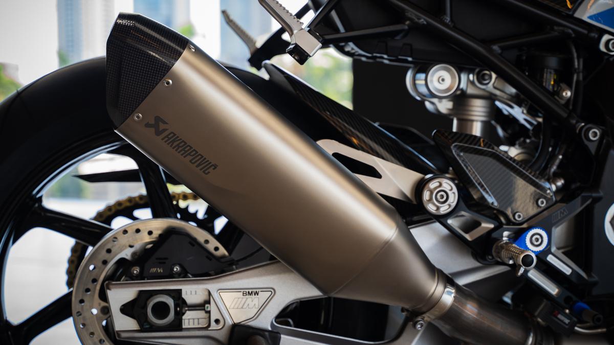 2021 BMW M1000RR Exhaust