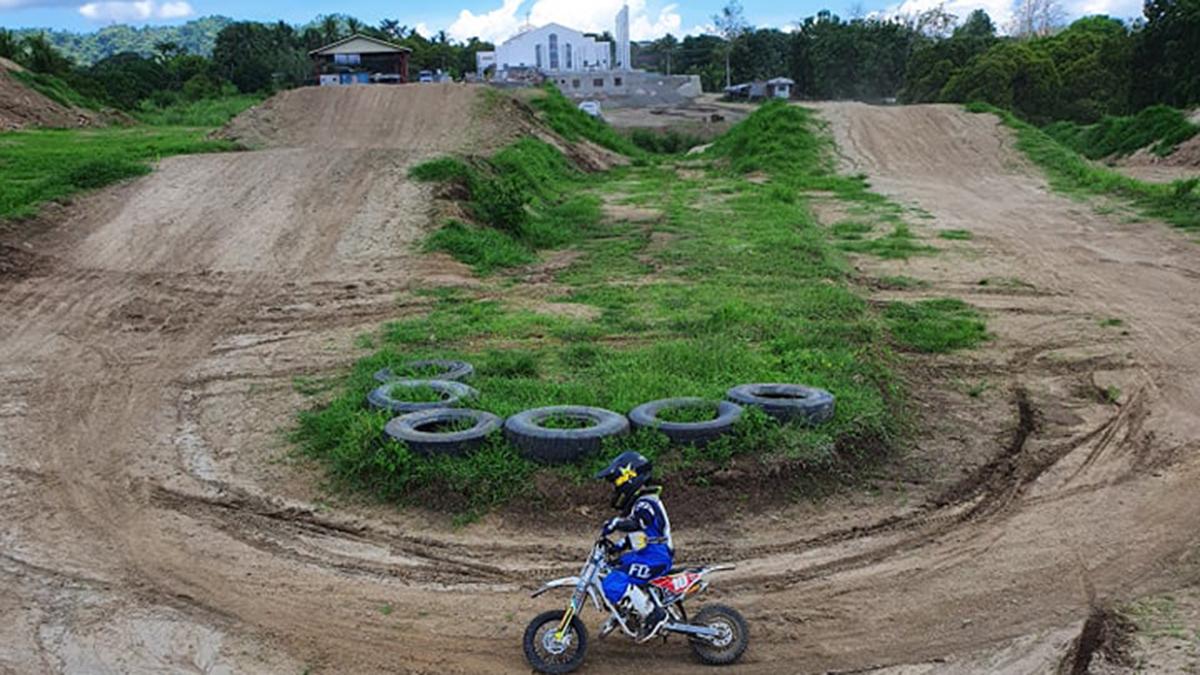 Davsons Motocross Park in Batangas