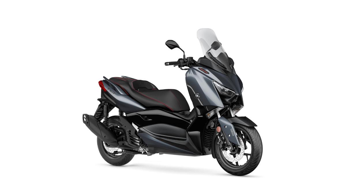 2021 Yamaha XMax 125 Tech Max Power Grey color