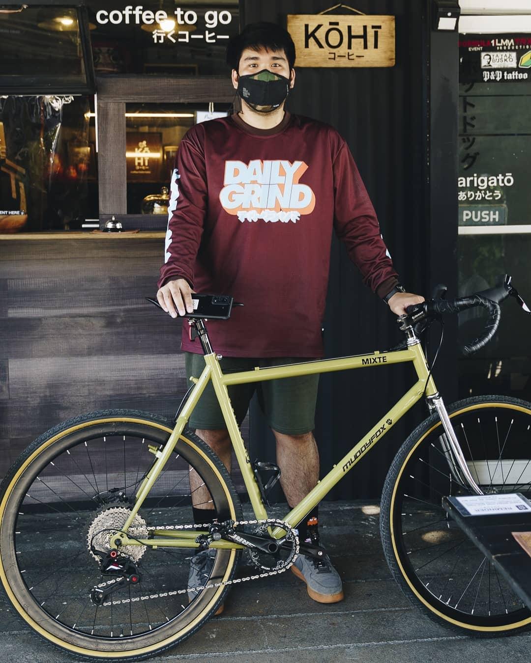 bike commuter Harrold Go