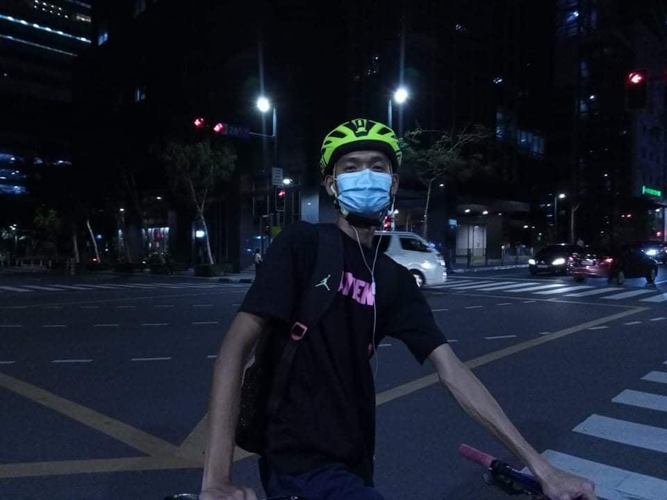 bike commuter RB Yap