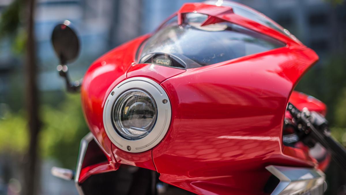 2021 MV Agusta Superveloce headlight