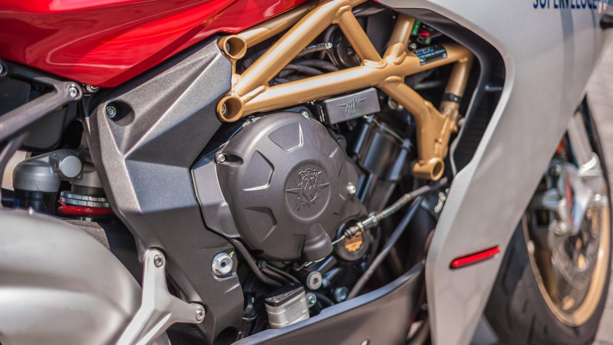 2021 MV Agusta Superveloce Engine