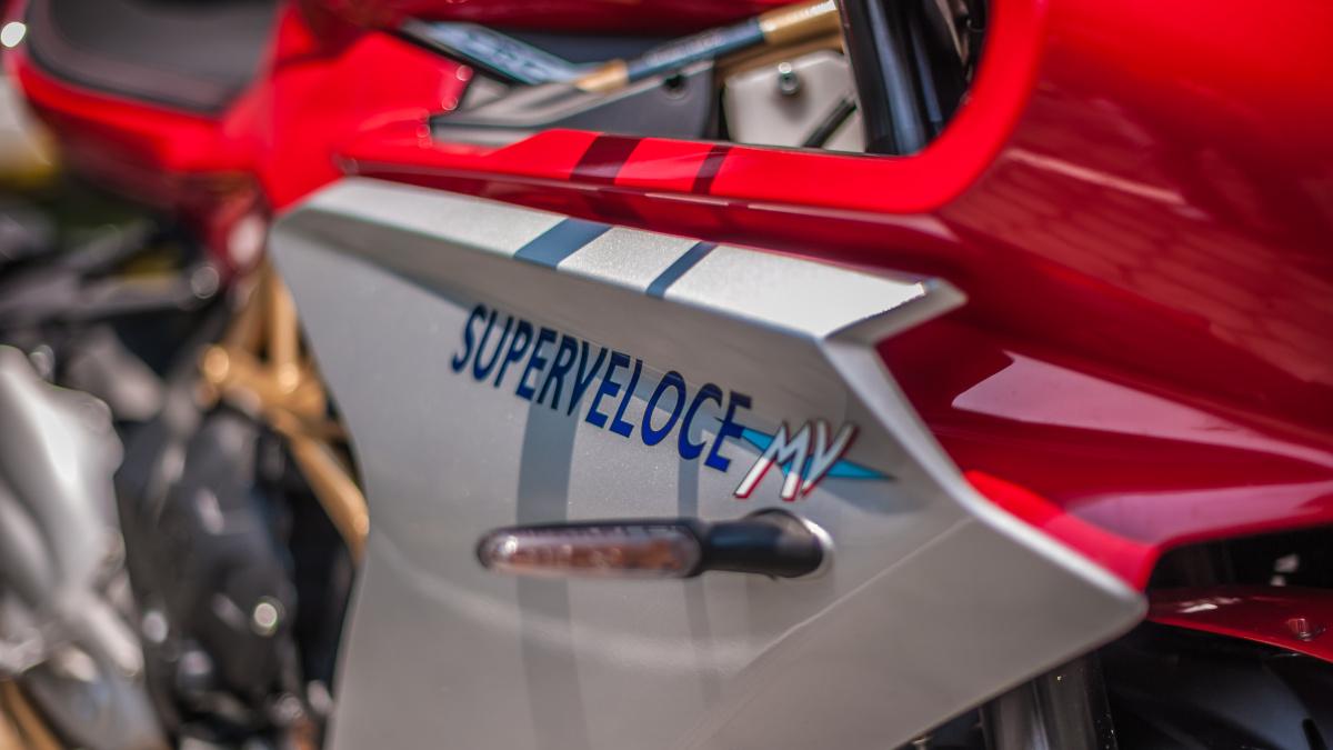 2021 MV Agusta Superveloce Decals