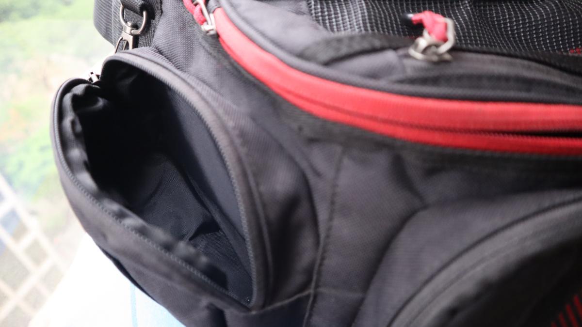 RS Taichi RSB267 Waist Bag side pocket