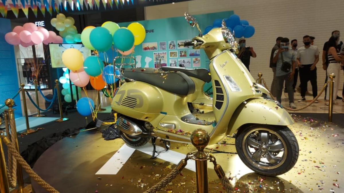 Vespa 75th Primavera scooter