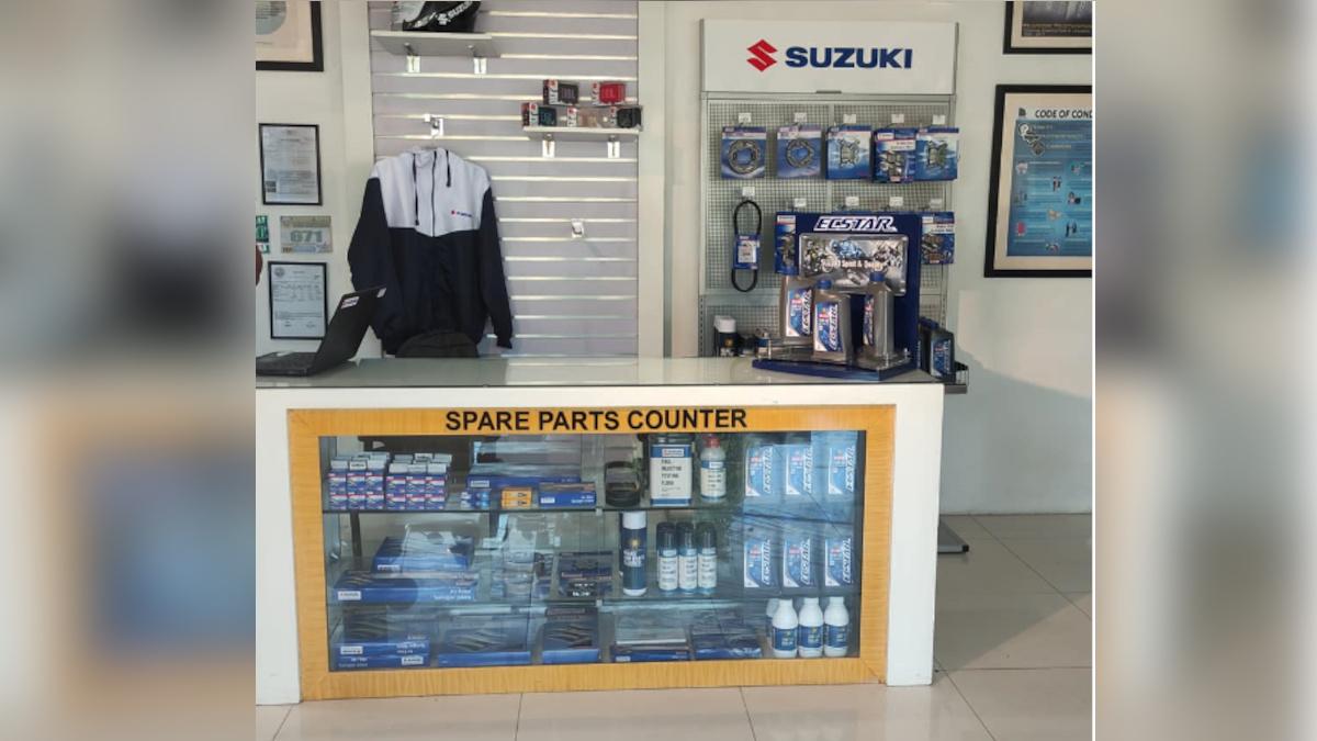 Suzuki-Freiburg 3S shop in Binangonan aftermarket services
