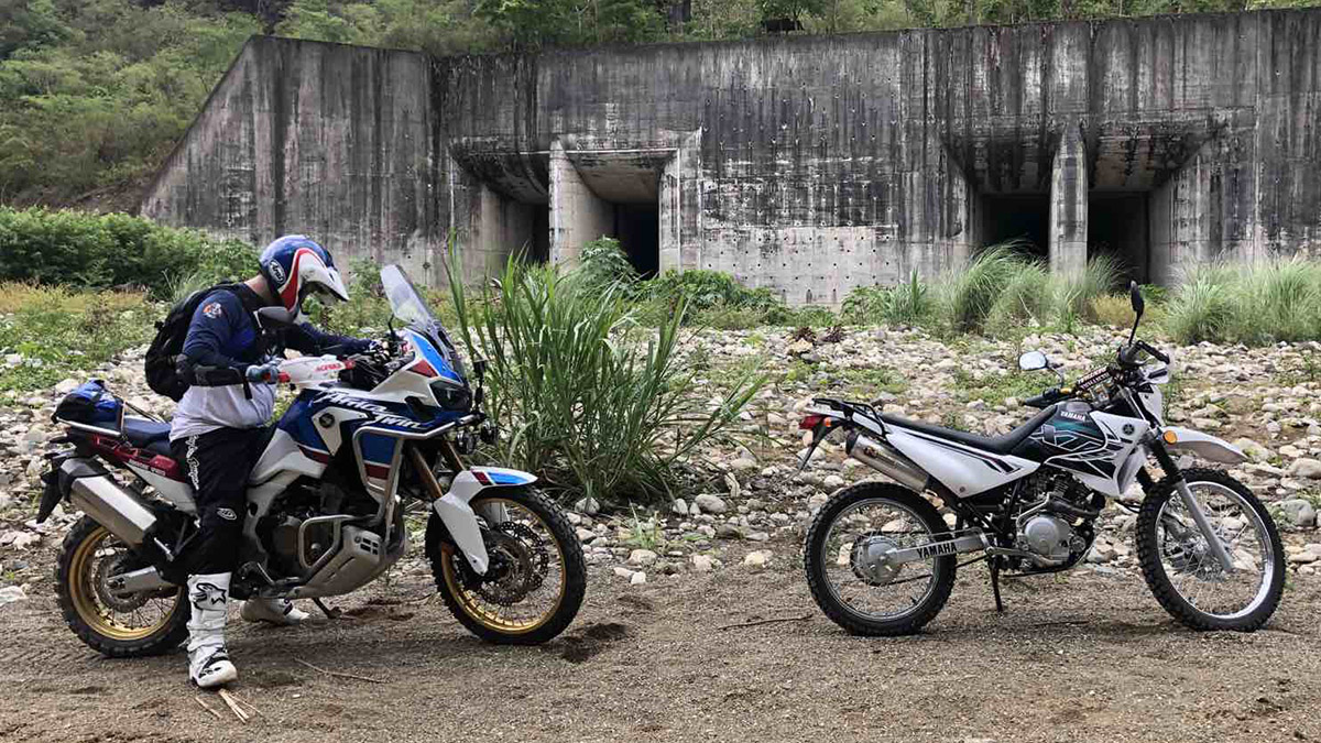 2019 Honda Africa Twin off-road motorcycle