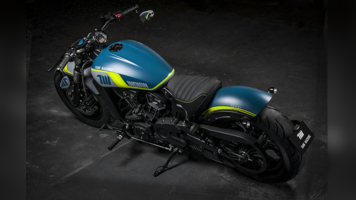 Navy/Yellow Indian Scout Sixty