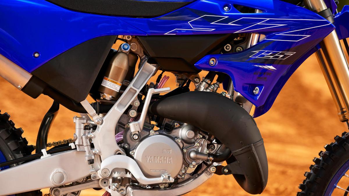 2022 Yamaha YZ125 engine