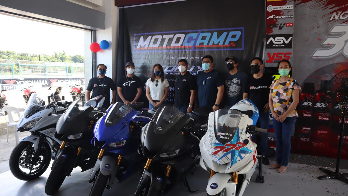 Che Estepa at The Motocamp Riding School Inauguration