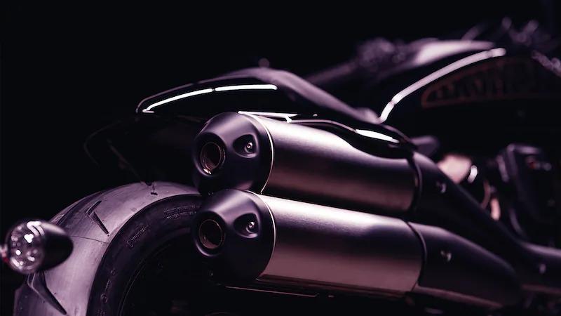 2021 Harley-Davidson Sportster S Exhaust