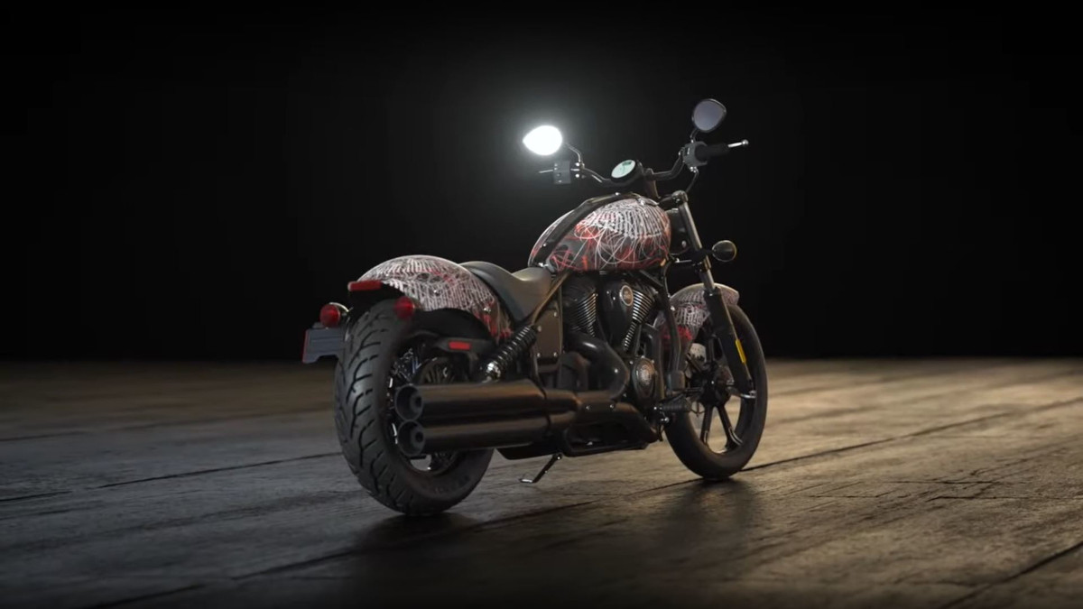 Indian Motorcycles X No Regrets collaboration