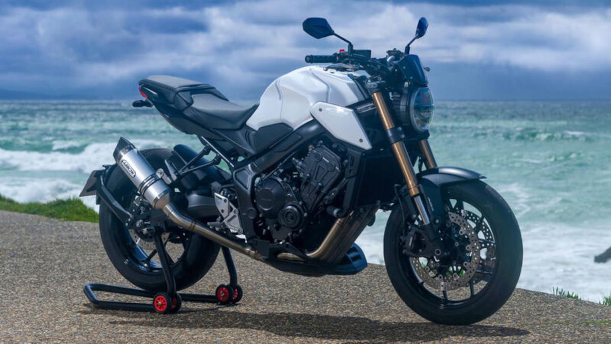 Honda CB650R custom bike