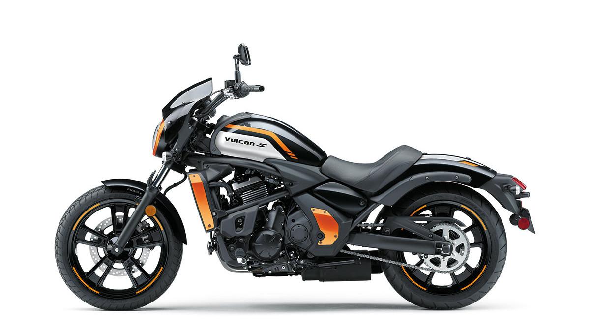 2022 Kawasaki Vulcan S Café cruiser bike