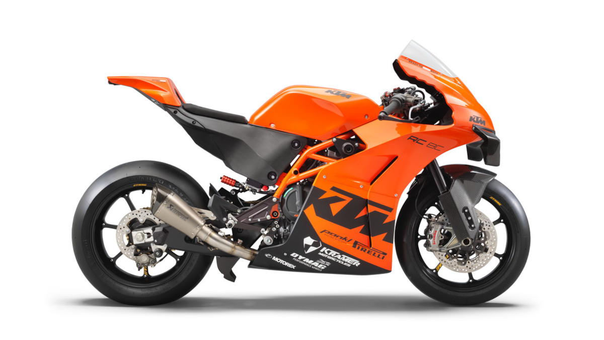 2021 KTM RC 8C track bike