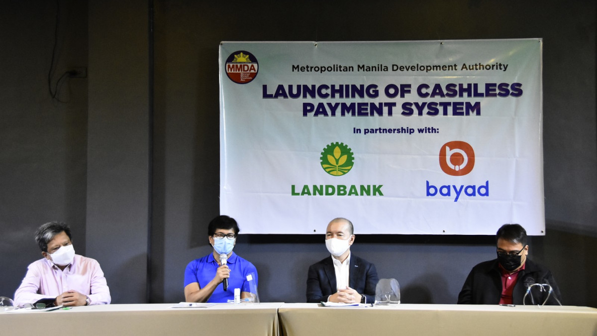 MMDA launching of cashless payment system in partnership with Land Bank of the Philippines and Bayad Center
