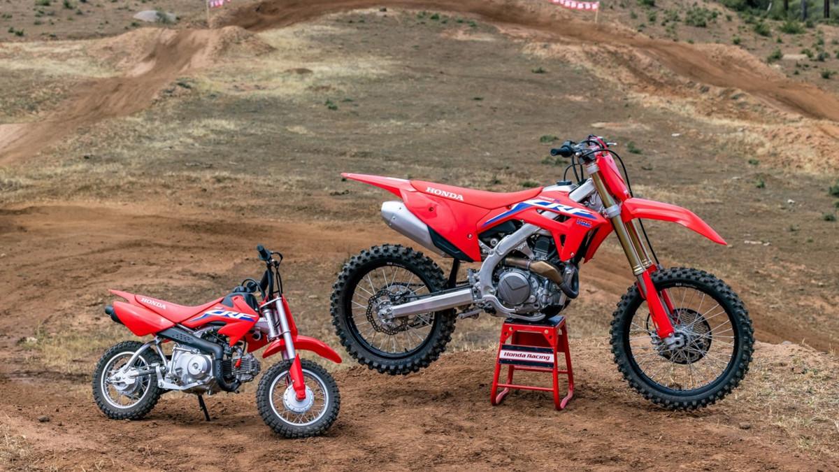 2022 Honda CRF250R and Honda CRF250RX