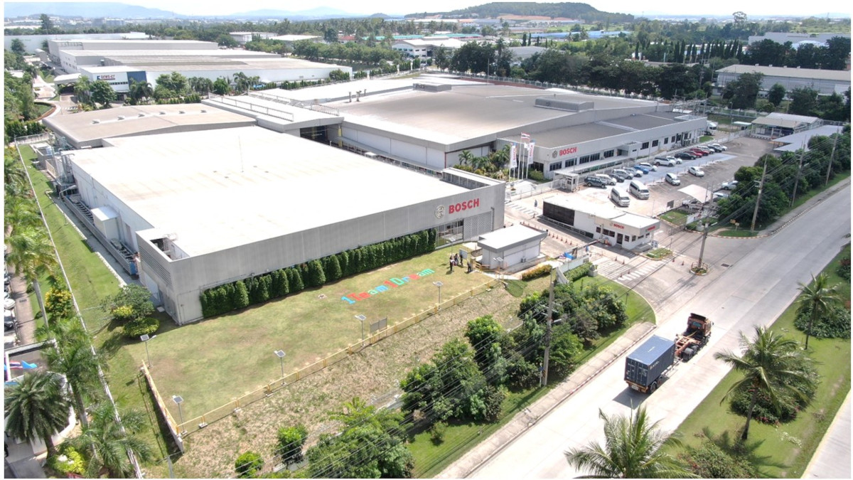 Bosch global manufacturing site for motorcycle ABS