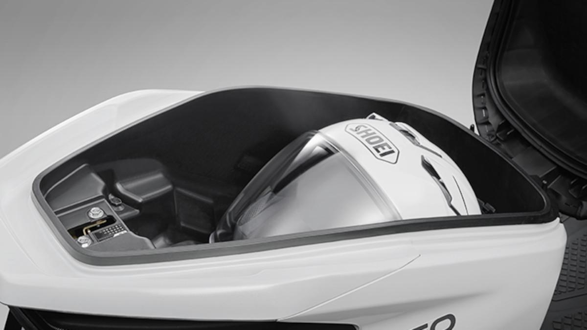 2022 Honda U-GO underseat compartment