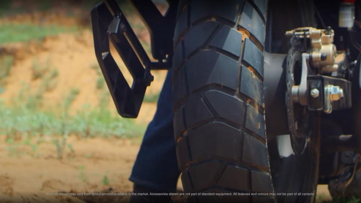 2021 Honda NX200 tires