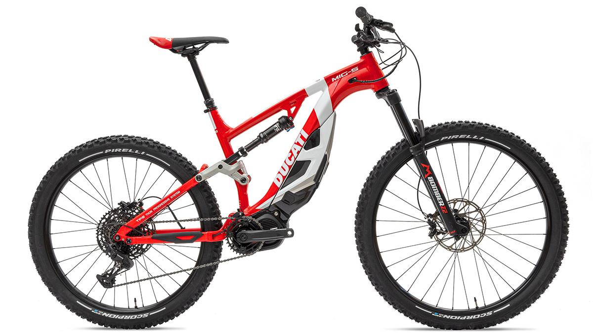 Ducati MIG-S electric mountain bike