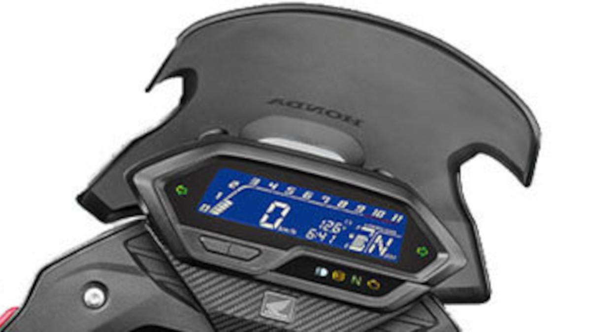 2021 Honda CB200X LCD screen