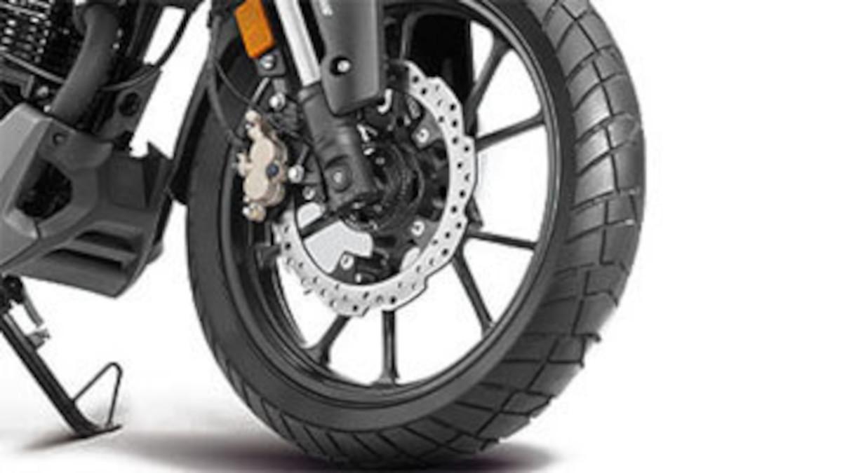 2021 Honda CB200X Tough Tread Pattern Tires