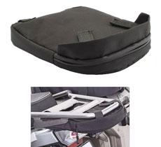 Homyl Waterproof Motorcycle Rear under Luggage Rack Bag Storage Case for BMW R1250 GS Adventure (2014)